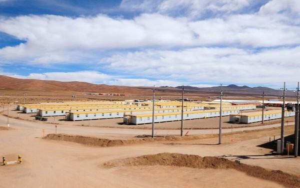 Acampamento de Construção  DONA INES de Collahuasi